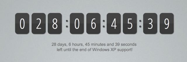 Noch 28 Tage bis zum Aus von Windows XP