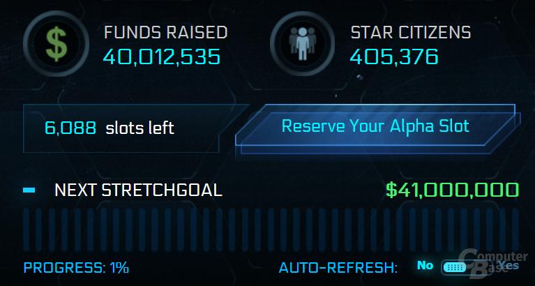 Crowdfunding für Star Citizen knackt 40 Millionen Dollar