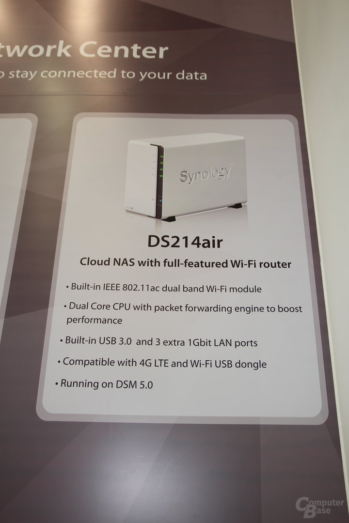 Synology DS214air