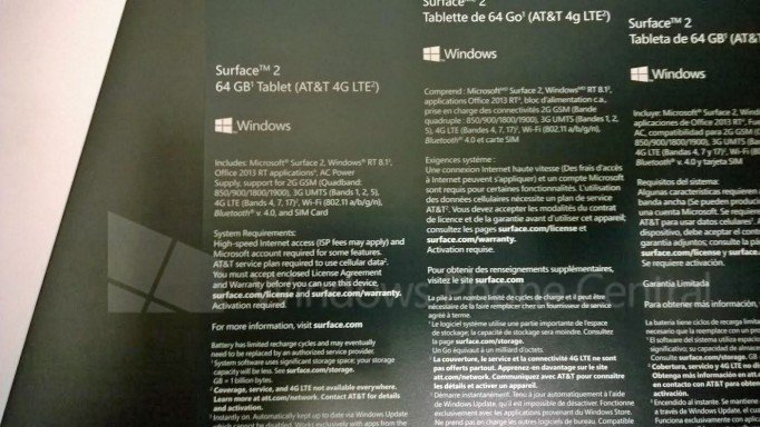 LTE-Variante des Microsoft Surface 2