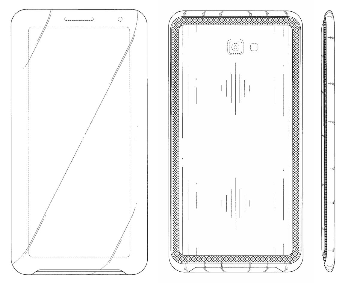 Samsung-Smartphone im 21:9-Format