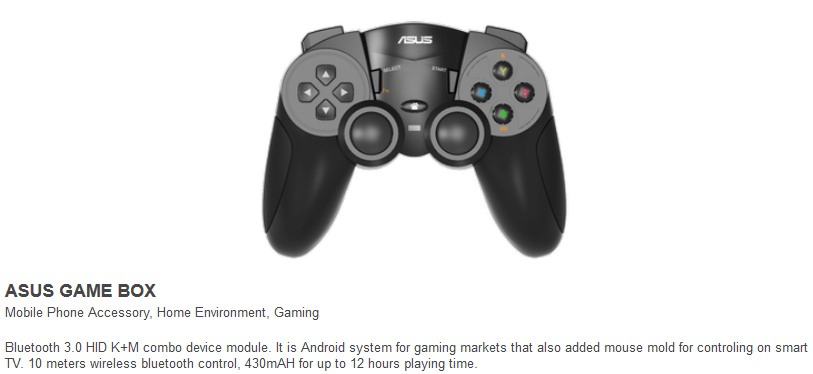 Bluetooth-Gamepad für Asus Game Box