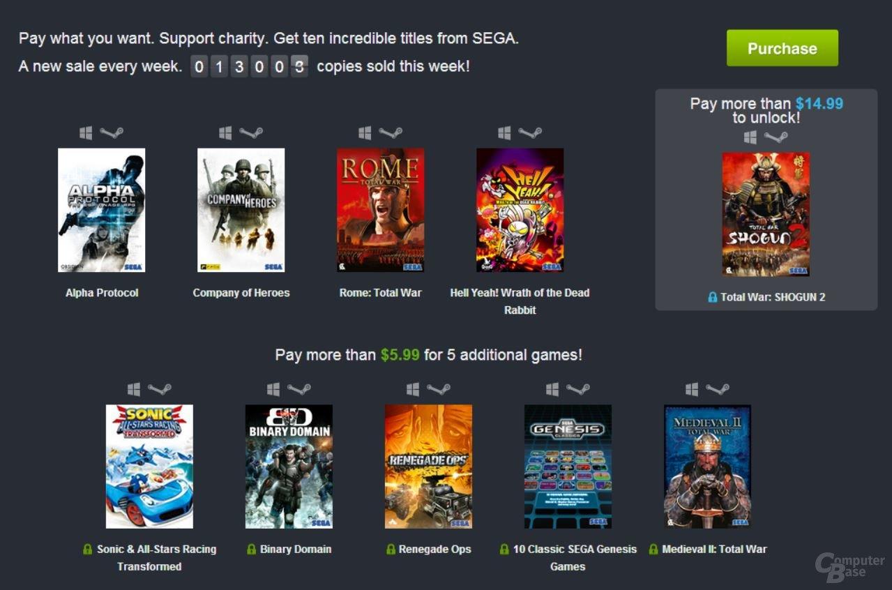 Humble Weekly Sale: Sega