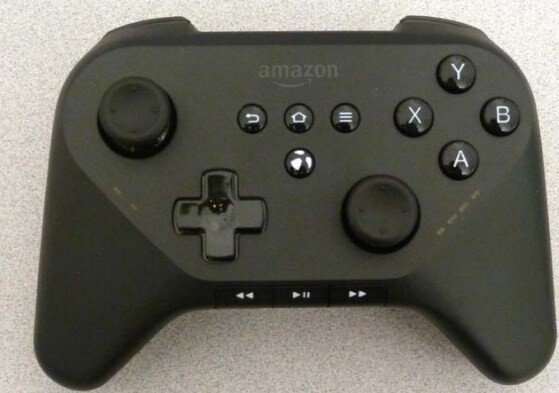 Controller mit Amazon-Logo