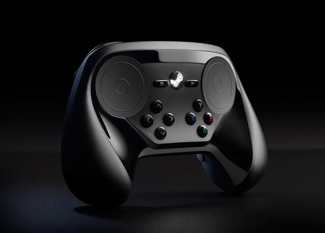 Steam Controller mit überarbeitetem Tastenlayout