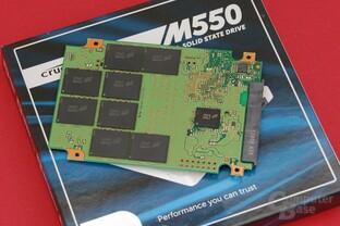 Crucial M550 1.024 GB – PCB Rückseite