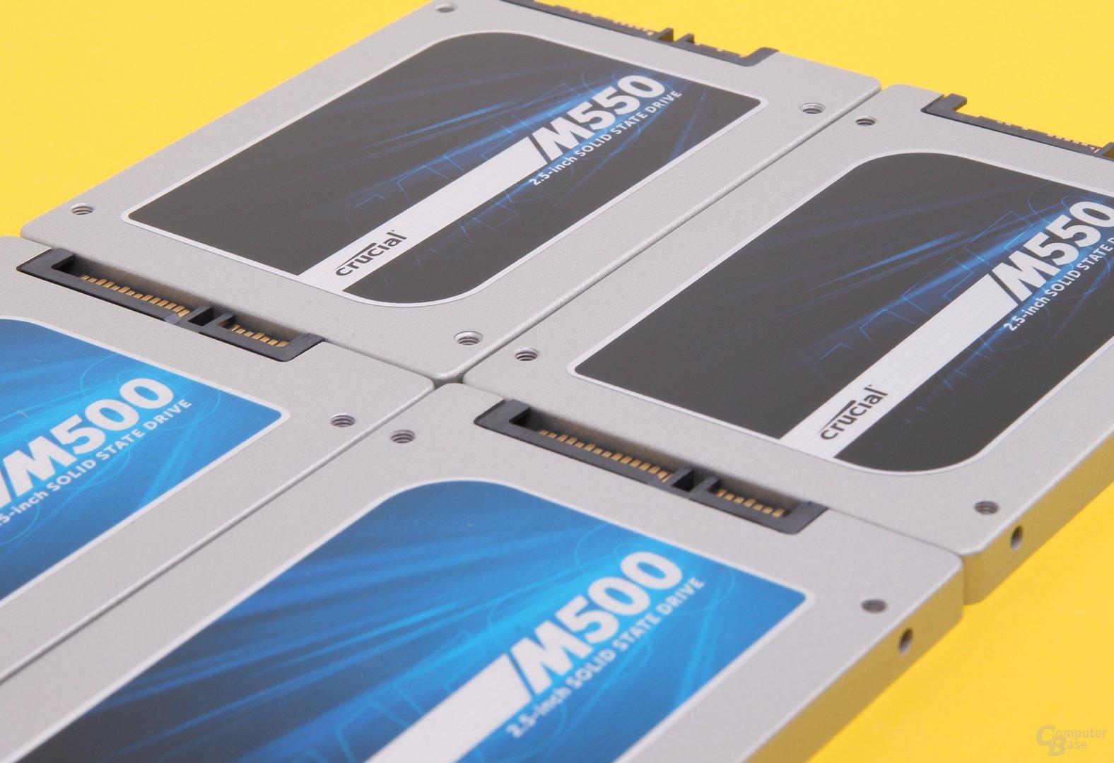 Crucial M500 und M550