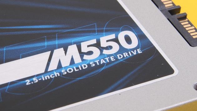 Crucial M550 SSD mit 1 TB und 512 GB im Test: Für Enthusiasten