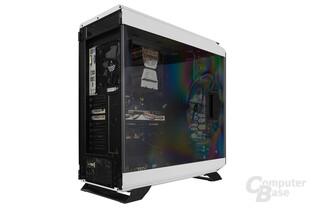 Corsair Graphite 760T - Testsystem seitlich