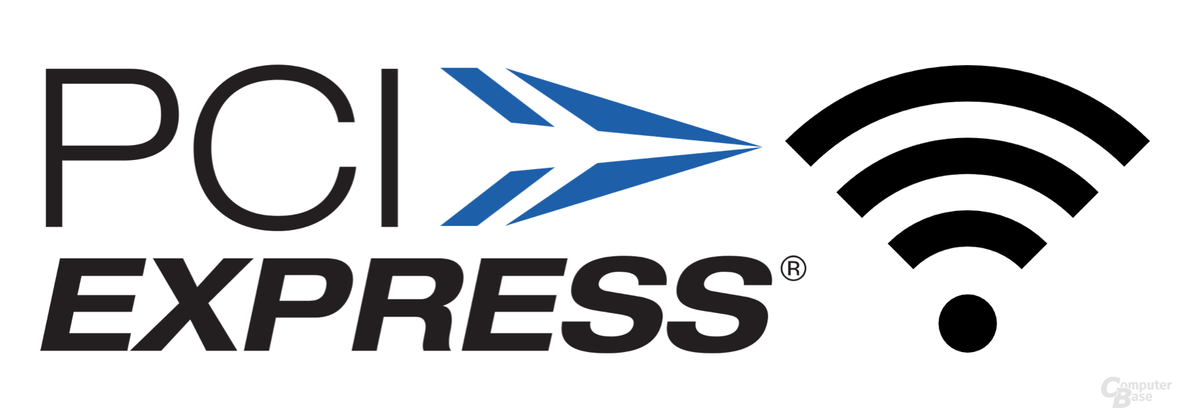 """PCI Express Wireless""-Logo"