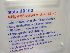 mpio HD100