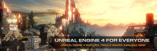 Die Unreal Engine 4 für jedermann