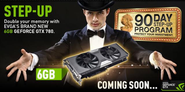 Die GeForce GTX 780 mit 6 GB Speicher kommt