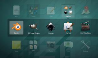 Gnome 3.12 App-Folder