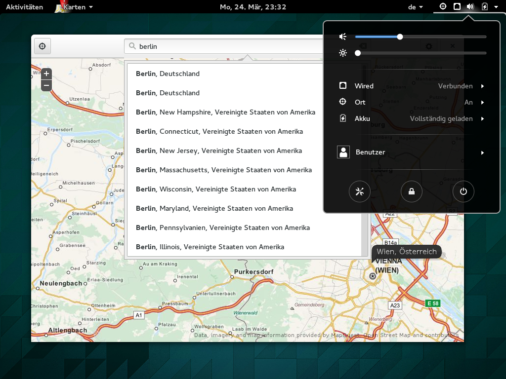 Gnome 3.12 Geolocation