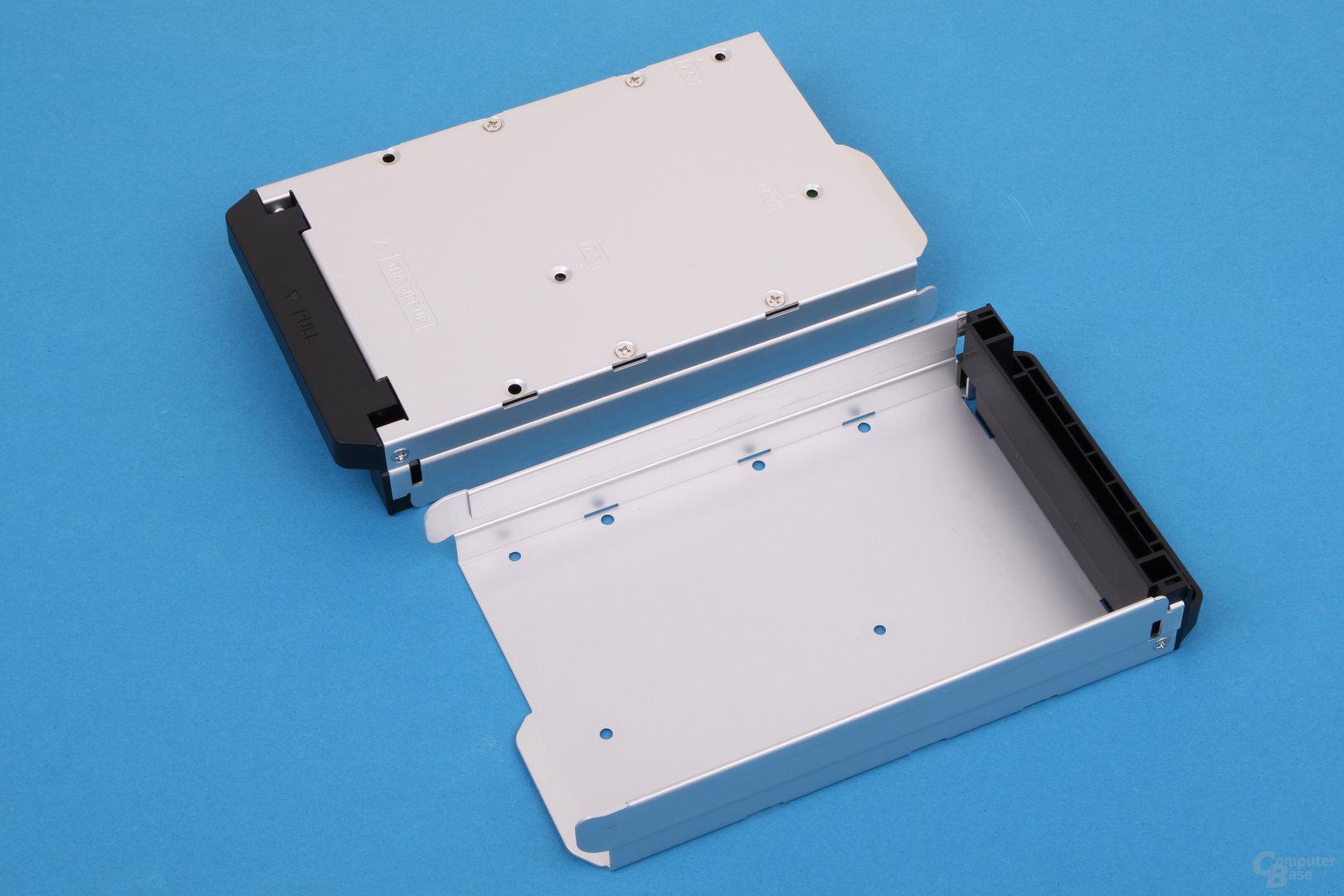QNAP HS-210 im Test – Festplatteneinschübe