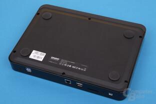 QNAP HS-210 im Test – Unterseite