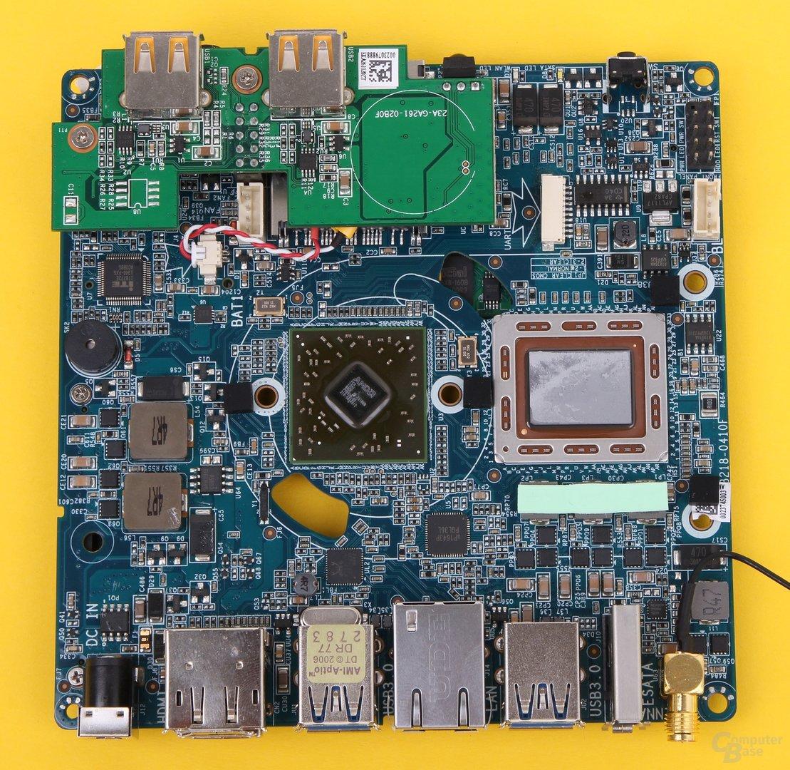 Zotac Zbox nano AQ02 Plus – Hauptplatine