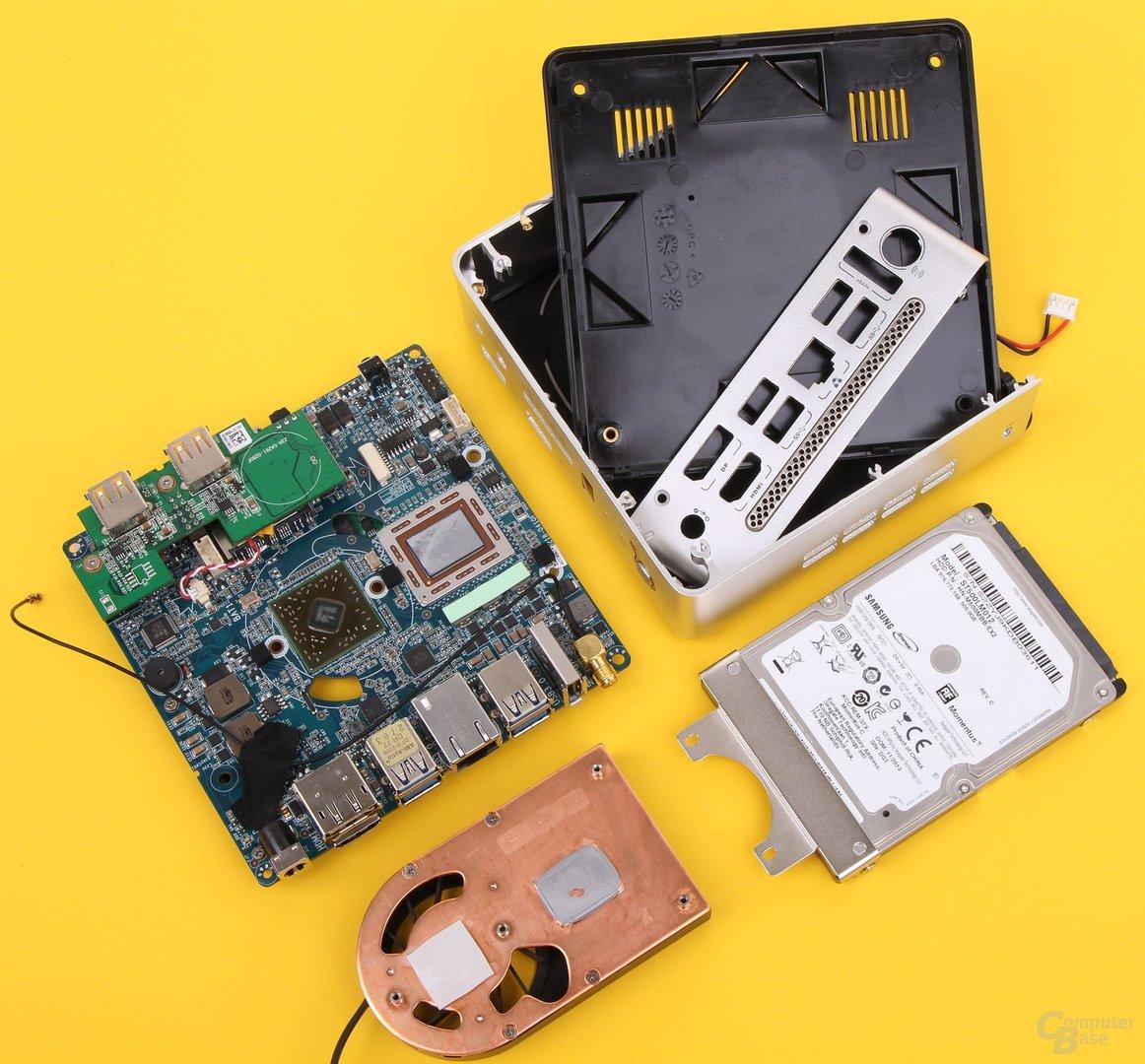Zotac Zbox nano AQ02 Plus zerlegt