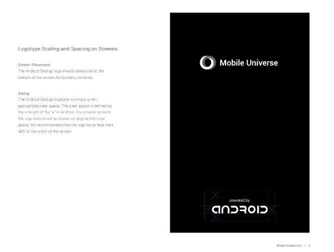 Markenrichtlinien für Android