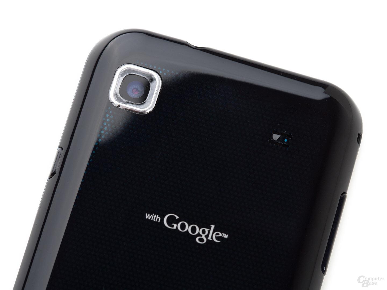Rückseite Samsung Galaxy S