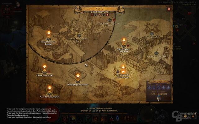 Abenteuermodus in Diablo 3: Reaper of Souls