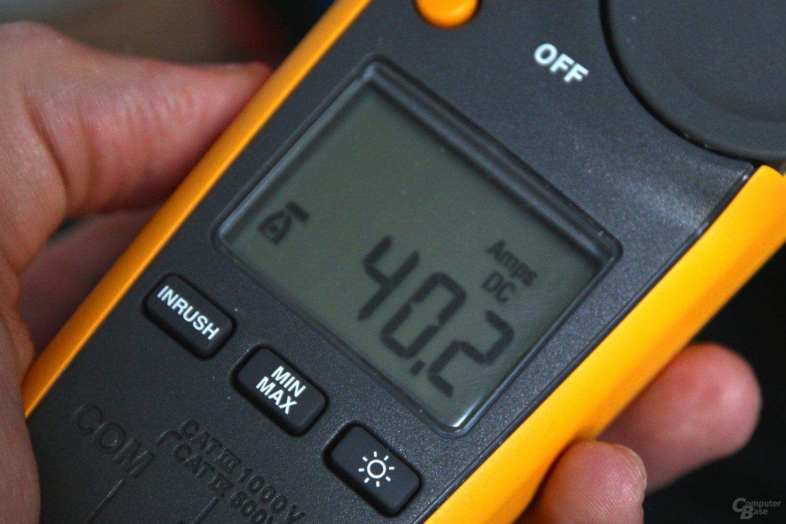 40,2 Ampere über zwei 8-Pin-Stecker