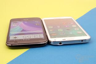 HTC One (M8) und Samsung Galaxy S5: Infrarot