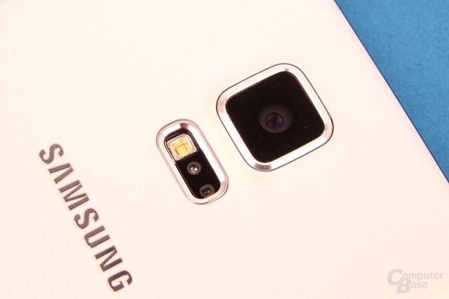 Samsung Galaxy S5: Herzfrequenzmesser im Blitz / 16-MP-Kamera