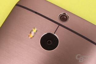HTC One (M8): Duo Camera mit 4 Megapixel und Dual-LED-Blitz