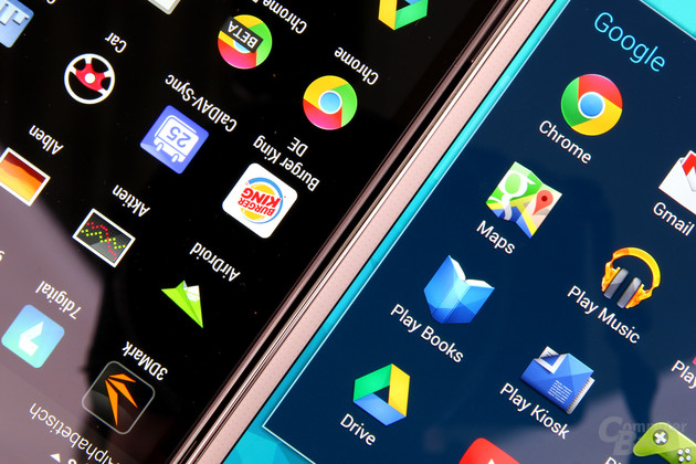 HTC One (M8) und Samsung Galaxy S5: Full HD auf 5 und 5,1 Zoll