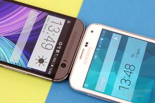 HTC One (M8) und Samsung Galaxy S5: Kopf-an-Kopf-Rennen
