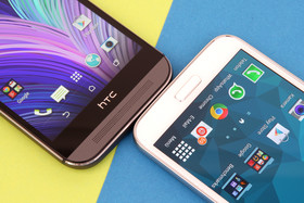 HTC One (M8) und Samsung Galaxy S5: On-Screen- vs. kapazitive Tasten