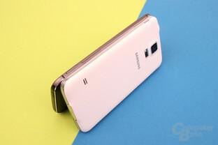 Samsung Galaxy S5: Trister Kunststoff