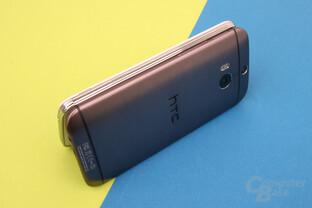 HTC One (M8): Schickes Aluminium