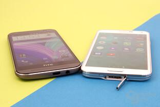 HTC One (M8) und Samsung Galaxy S5: Anschlüsse