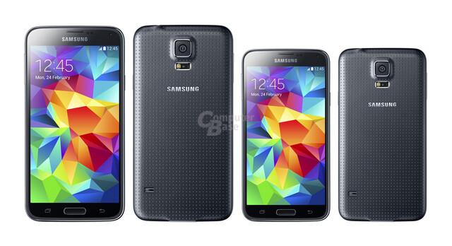 """So groß könnte das Galaxy S5 als """"mini"""" mit 4,5-Zoll-Display werden"""