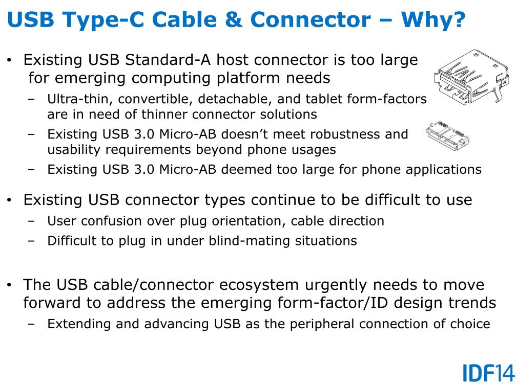 Gründe für den neuen Steckertyp C