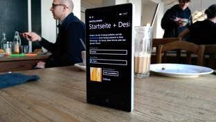 Neuer Startbildschirm für alle Geräteklassen