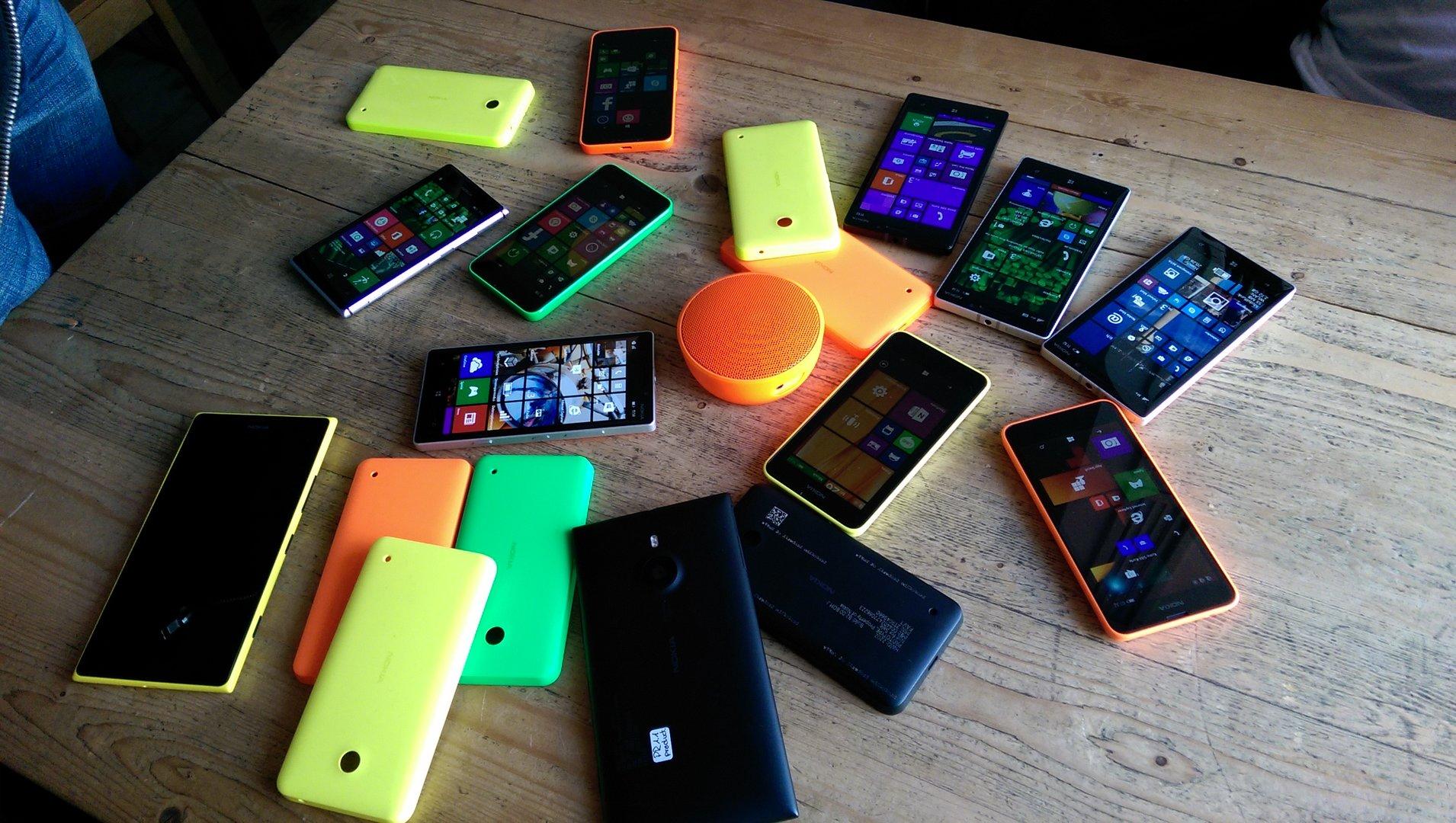 Buntes Treiben: Nokia MD-12 mit neuen und aktuellen Lumia