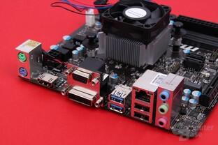 MSI AM1I mit AMD Athlon 5350