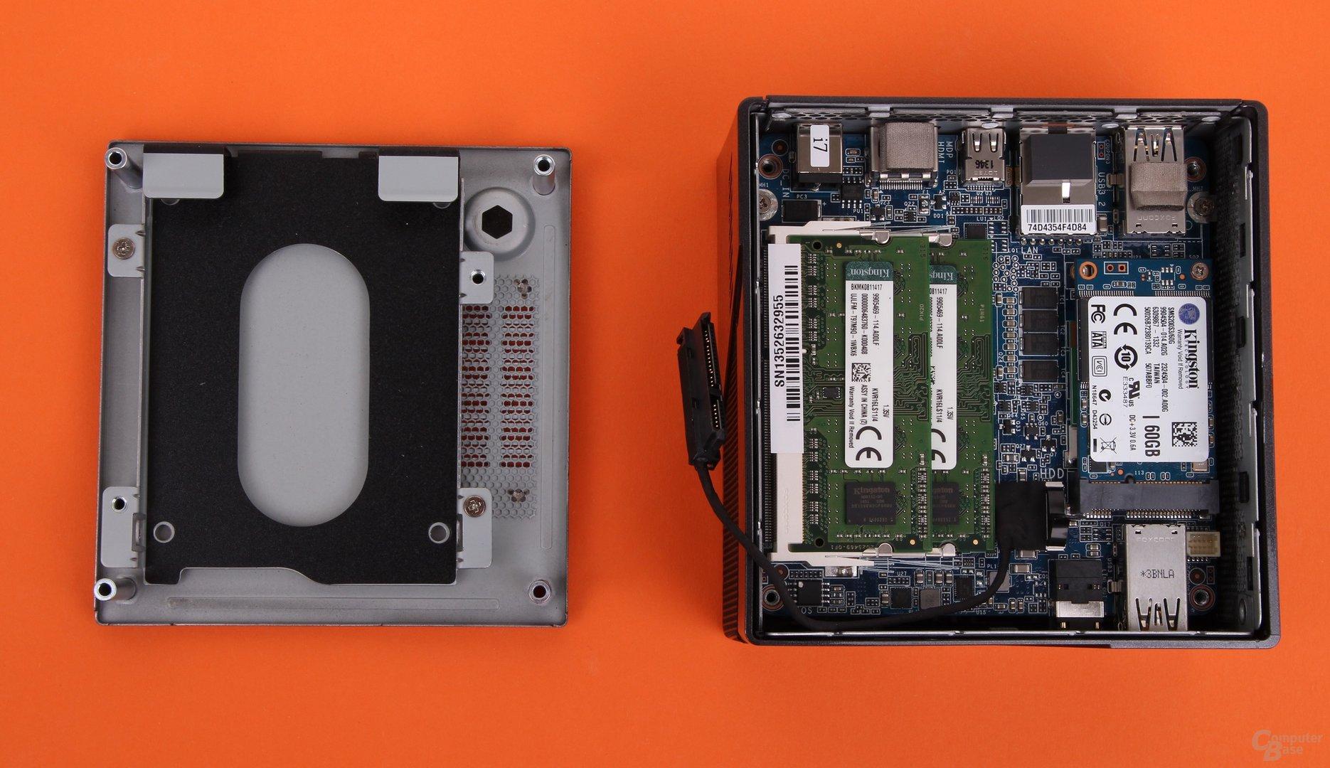 Gigabyte Brix Pro GB-BXi7-4770R geöffnet