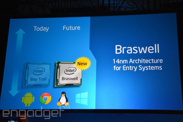 Intel Braswell IDF-2014
