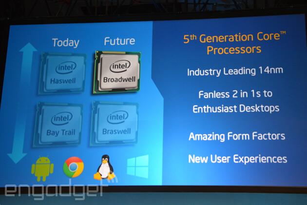 Intel Broadwell-Braswell IDF-2014
