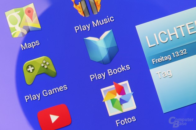 Das hochauflösende Display des Sony Xperia Z2 Tablet