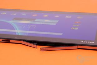 Wasserdichte Anschlüsse beim Sony Xperia Z2 Tablet