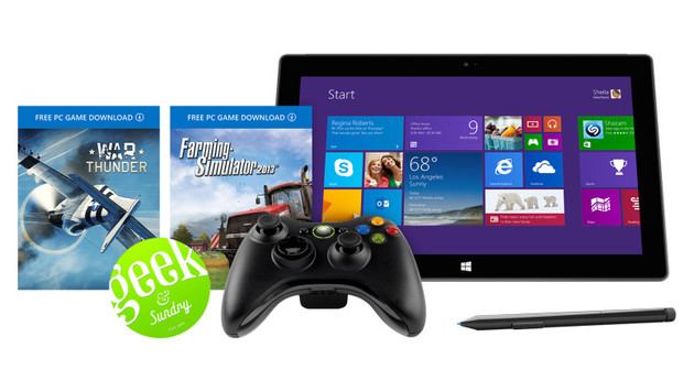 Surface Pro 2 Geek & Sundry Bundle