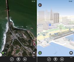 Bessere Luftaufnahmen und 3D-Ansicht für Here Maps