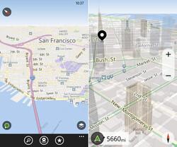 3D-Ansicht und eigene Ziele für Here Drive+