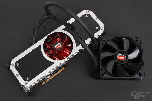 AMD Radeon R9 295X2 – Kühlsystem mit externem Radiator